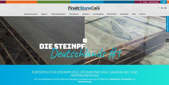 Steinpflege